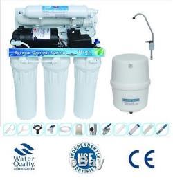 Élimination Du Fluorure Dans Le Système De Filtre De Purification D'eau Par Osmose Domestique