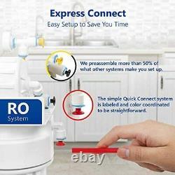 Express Eau Par Osmose Inverse Alcaline Système De Filtration D'eau 10 Etape Ro W
