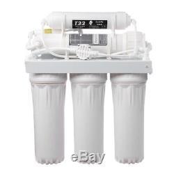 Filtration De Ro De Système De Filtre D'eau Potable Par Osmose Inverse De L'étape 50 De Gpd