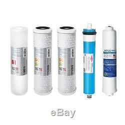 Filtre À Eau De Rechange Complet Apec Us Made 90 Gpd Pour Le Système Ro Filter-max90