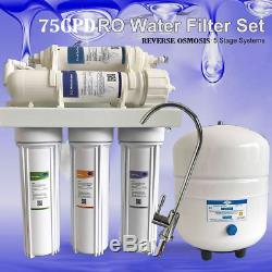 Filtre À Eau Pour Toute La Maison Système W / 5 Etapes Remplacement Du Filtre 75gpd Tds Tester
