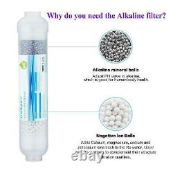 Filtre À Eau Ro Osmose Inverse À 6 Étapes Avec Filtre Alcalin 75 Gpd
