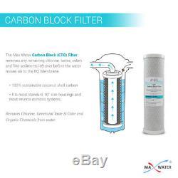 Filtre D'eau De Ro De Système D'osmose D'inversion De 5 Étapes 75 Gpd
