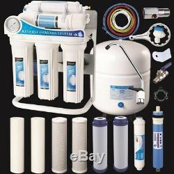 Filtre D'évier D'osmose Inverse Pour Système D'eau Potable À Osmose Inverse 100 Gpd + Filtre Extra