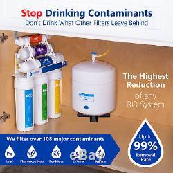 Filtre Minéral De Ro De Système De Filtration D'eau Par Osmose Alcalin 50 Gpd