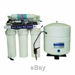 Filtre Premier Systeme D'osmose Inverse D'eau Avec Pompe Booster 150 Gpd 6 Gal Tank