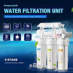 Filtres À Eau En 5 Étapes, Système D'eau Potable À Osmose Inverse Plus Extra 7 Express