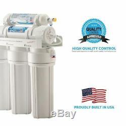 Filtres De Remplacement De Filtre À Eau Pour Système D'eau Potable À La Maison À 5 Étages Pour Osmose Inverse