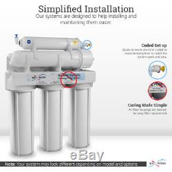 Filtres Maximaux De L'eau Des USA Ro De Système D'osmose D'inversion Potable Potable De 5 Étapes