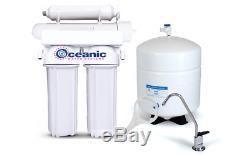 Filtres Résidentiels De L'étape 100 De Gpd + Ro Du Système De Filtration De L'eau Par Osmose Inverse 4