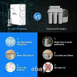 Frizzlife Inverser Osmose Système De Filtration D'eau Potable 400gpd Ro Filtre