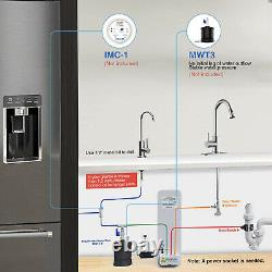 Frizzlife Reverse Osmosis Drinking Water Filtration System-400gpd Ro Filter