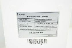 Frizzlife Ro Reverse Osmosis Water Filtration System 600 Gpd High Flow Tankless