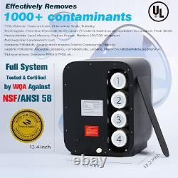 Frizzlife Wa99 Osmose Inverse Filtre À Eau Sans Réservoir Ro Système Countertop