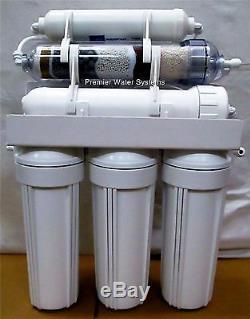Home 6 Etages Alcalin Ph Plus / Orp Négatif Système D'eau À Osmose Inverse 50 Gpd