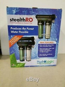 Hydro Logic Furtif Ro 150 Système D'osmose Inverse Filtre À Eau Ro100 Ro150