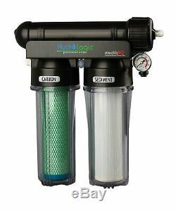 Hydro-logic 150 Gpd Carbone Stealthro Système D'osmose Inverse De Filtration