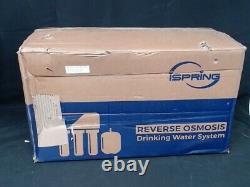 Ispring Inverse Osmose Système De Filtration D'eau Potable Ro Filtration Utilisé