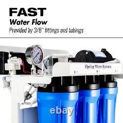 Ispring Rcb3p 300 Gpd Léger Système D'eau Ro Commerciale Avec Pompe À Eau