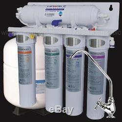 L'osmose Inverse À 5 Étapes Avec Le Changement Rapide De Baïonnette Filtre Le Système D'eau Potable De Ro