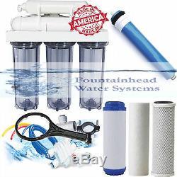 L'osmose Inverse Filtre L'eau Claire Carters Core System 100 Gpd Made Aux Etats-unis