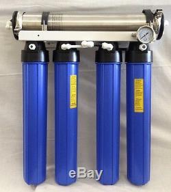 Le Shark 600 Gpd Commercial Osmoseurs Aquarium Ro / DI Système Double DI Ro