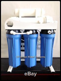 Le Système D'eau À Osmose Commerciale De Premier Plan Commercial 400 Gpd Se Réunit Aux