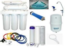 Le Système D'osmose D'inversion De Filtre D'eau De Ro 5 Filtre La Filtration De L'eau D'étapes 100 Gpd
