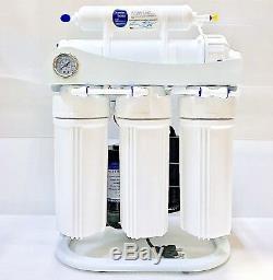 Lumière Commerciale Eau Par Osmose Inverse Système De Filtration 250 Gpd Avec Pompe D'appoint