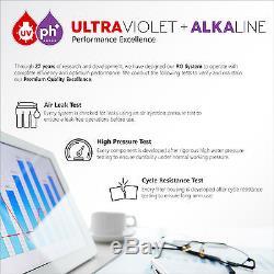 Manomètre Alcalin Ultraviolet Pour Système De Filtration D'eau À Osmose Inverse 11 Étapes