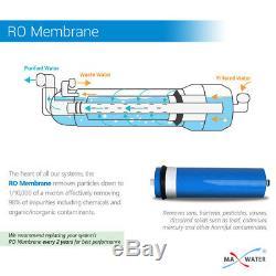 Max Eau 600 Gpd Commercial Système D'osmose Inverse D'eau