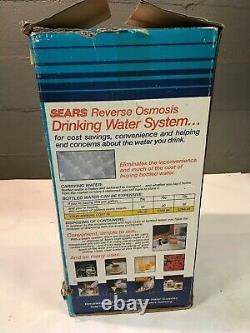 Nos Sears Kenmore Nouveau Osmose Inverse Réseau D'eau Potable Et Filtres 34705