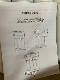 Nouveau Système D'eau Potable À Osmose Inverse Hydrotech Série 12402 1240 Ro