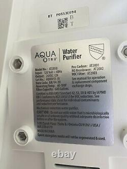 Nouveau Système De Purification Du Filtre Aqua Tru At2010 Avec Osmose Ultra Inversée En 4 Étapes