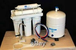 Oceanic 6 Etape 50 Gpd Osmose Inverse Alcaline Système De Filtration D'eau Ro Etats-unis