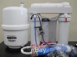 Oceanic Home Système De Filtration D'eau Potable Par Osmose Inverse De 75 Gpd Fabriqué Aux Etats-unis