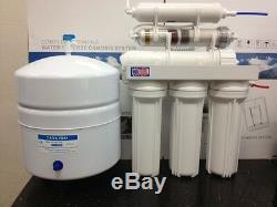 Oceanic Par Osmose Inverse Alcaline / Ioniseur Neg Orp 150 Gpd Système De Filtration Made (usa)