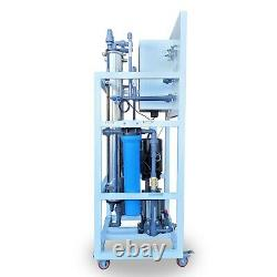 Osmose Inverse 8000 Gpd Commercial Ro Filtration Hydroponic Water Filter System