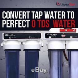 Osmose Inverse Résistante De 6 Étapes + Système De Filtrage De L'eau De Déionisation 150 Gpd