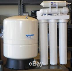 Osmose Lumineux Commercial Commercial Water System 300 Gpd Réservoir De 14 Gallons 20housing