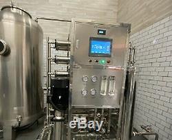 Plein Acier Inoxydable Système Commercial De L'eau Ro Osmose Inverse 316l