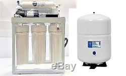 Pompe De Gavage Commerciale Du Système De Filtration De L'eau Par Osmose Inverse De 200 Gpd
