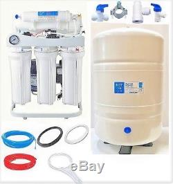 Pompe De Surpression De Réservoir LC Du Système De Filtration De L'eau Par Osmose Inverse De 400 Gpd 10 G De Ro