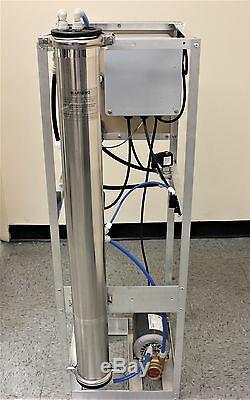 Pompe Rotative À Palettes À Déplacement Positif, Système 4000 Gpd Procon Par Osmose Inverse