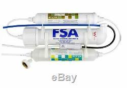 Portable 3 Etape Eau Par Osmose Inverse Système De Filtration Pour Le Brassage 280l / Jour 1-70b