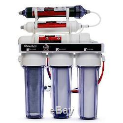 Portable Double Utilisation Eau Par Osmose Inverse Filtre Systèmes DI / Ro 100gpd Membrane