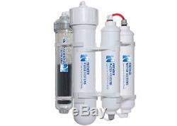 Portable Mini Système D'osmose Inverse D'eau Avec Filtre Alcalin 5 Etape 100 Gpd