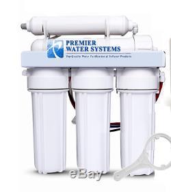 Premier 5 Etape De Filtration D'eau Par Osmose Inverse Core System 75 Gpd Made In USA