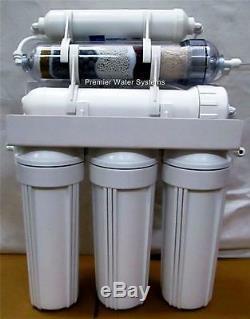 Premier 6 Etape Alcaline Orp Négatif Eau Par Osmose Inverse Système De Filtration 100gpd