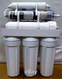 Premier 6 Phases Alcalin Ph Plus / Orp Négatif Système À Osmose Inverse 75